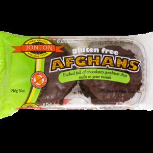 Jon-Jon Gluten Free Afghans 150g
