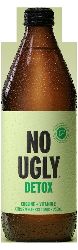 No Ugly Detox Citrus Wellness Tonic 250ml