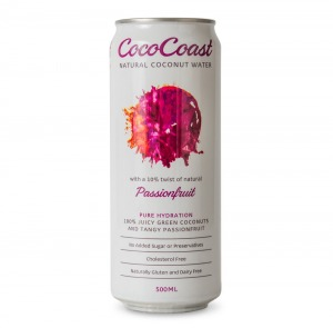 Cococoast Passionfruit Coconut Water 500ml