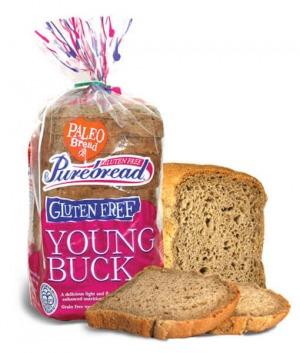 Purebread Young Buck Paleo Bread 250g