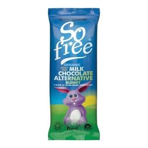 So Free Milk Chocolate Bunny Bar 25g