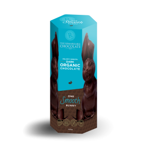 The Remarkable Chocolate Co. Dark Organic Smooth Bunny 120g