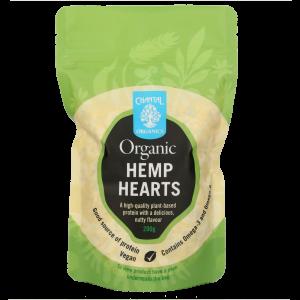 Chantal Organics Hemp Hearts 200g