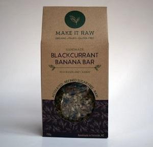 Make It Raw Blackcurrant and Banana Bar 150g