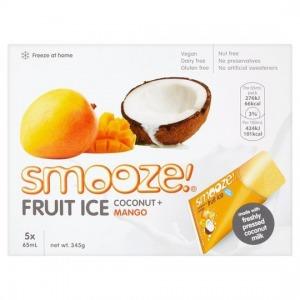 Smooze Fruit Ice Coconut & Mango (5) 325ml