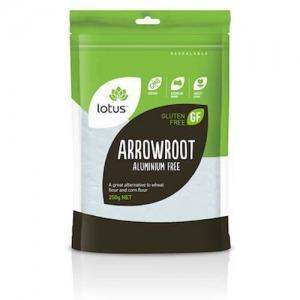 Lotus Arrowroot Powder 250g