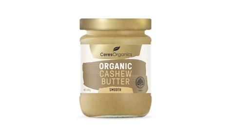 Ceres Organics Cashew Butter Smooth 220g