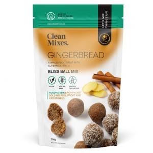 Clean Mix Gingerbread Bliss Ball Mix 200g