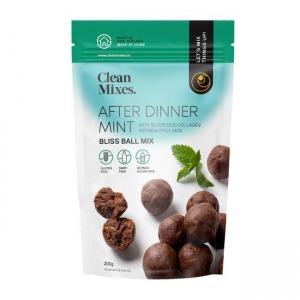 Clean Mixes After Dinner Mint Bliss Ball Mix 200g