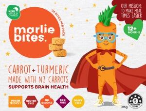 Marlie Bites Carrot & Turmeric (24) 315g FROZEN