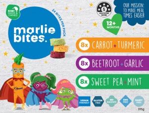 Marlie Bites Mixed Pack (24) 315g FROZEN