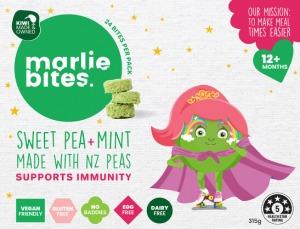 Marlie Bites Sweet Pea & Mint (24) 315g FROZEN
