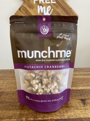 Munch Me Pistachio Cranberry Snacks 120g