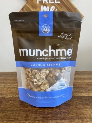 Munch Me Cashew Sesame Snacks 120g