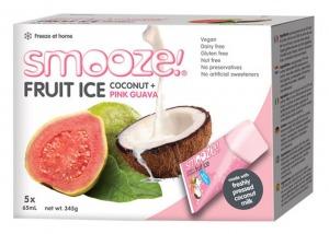 Smooze Fruit Ice Coconut & Guava (5) 325ml