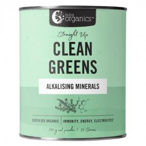 Nutra Organics Clean Greens Alkalising Minerals Powder 200g