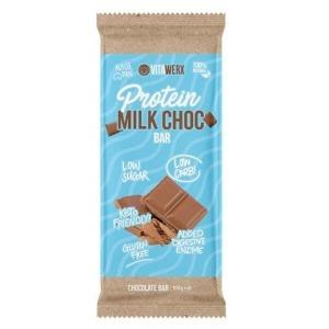 Vitawerx Milk Choc Bar 100g