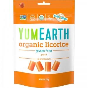 YumEarth Organic Licorice - Peach 142g