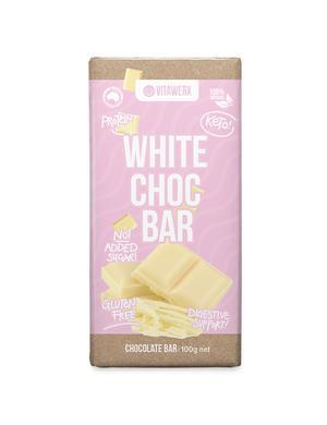 Vitawerx White Choc Bar 100g