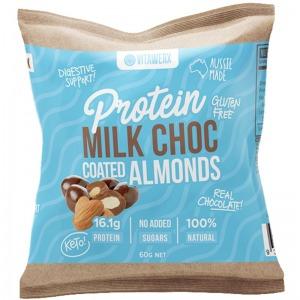 Vitawerx Milk Choc Coated Almonds 60g