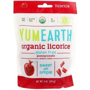 YumEarth Organic Licorice - Pomegranate 142g